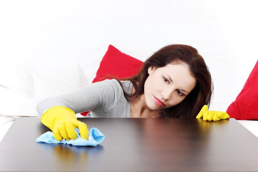 Cleaning angels take care of the surfaces in your home with natural cleaning supplies.